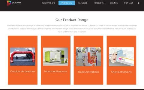 Screenshot of Products Page promopark.gr - Products – Promopark SA - captured July 7, 2018