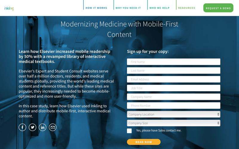 Modernizing Medicine with Mobile-First Content