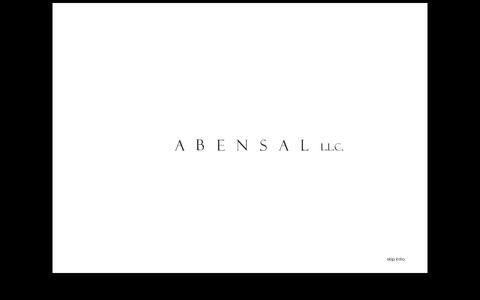 Screenshot of Home Page abensal.com - Abensal - captured Feb. 4, 2016