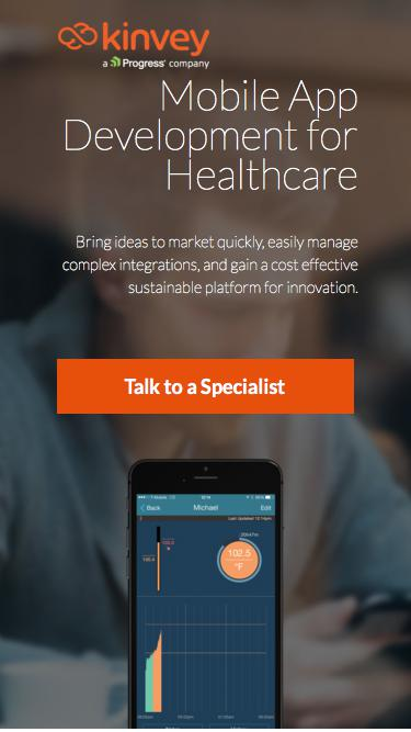 Mobile App Development for Healthcare | Mobile Backend as a Service | Kinvey
