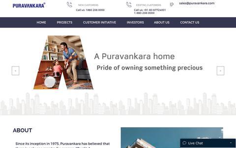 Real Estate Developers | Builders and Property Developers in Bangalore - Puravankara