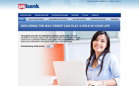 U.S. Bank Credit Wellness - Exploring the way credit can play a role in your life.