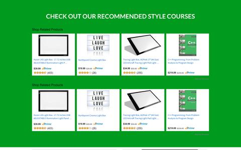 Recommended Style Courses —
