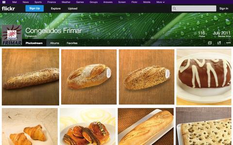Screenshot of Flickr Page flickr.com - Flickr: Frimarcom's Photostream - captured Oct. 22, 2014