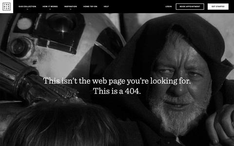 Screenshot of Contact Page theblacktux.com - Not Found | The Black Tux - captured May 21, 2019