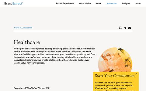 Change Your Healthcare Branding & Marketing