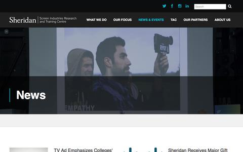 Screenshot of Press Page sirtcentre.com - News - Sirt - captured Nov. 19, 2016