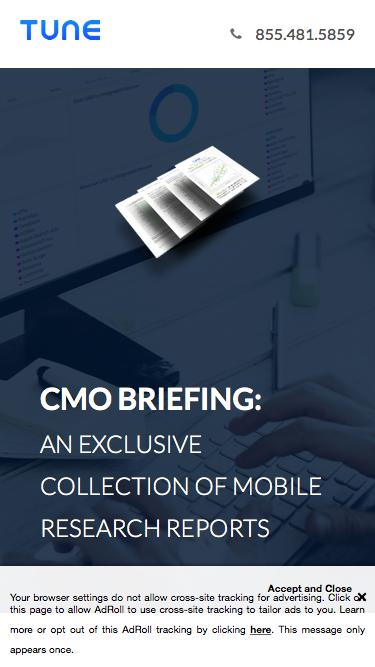 CMO Briefing: An Exclusive Collection of Mobile Research Reports