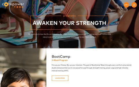 Yoga Lifestyle Programs | CorePower Yoga