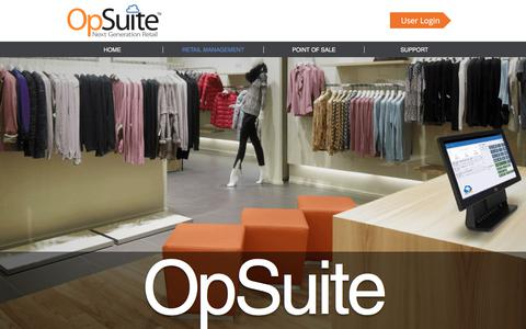 Screenshot of Team Page opsuite.com - Retail-management | OpSuite - captured Oct. 26, 2017