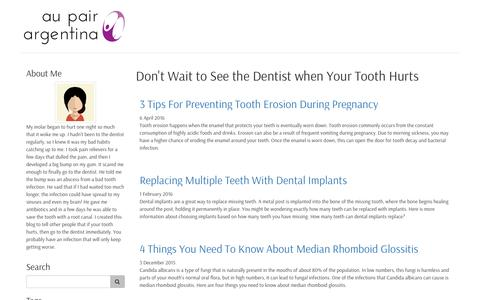 Don't Wait to See the Dentist when Your Tooth Hurts
