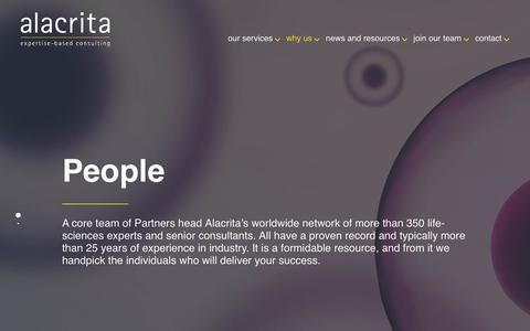 Screenshot of Team Page alacritaconsulting.com - Team Members Archive - Alacrita LLP - - captured May 29, 2017