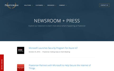Praetorian Newsroom