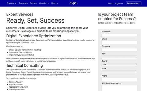 Episerver Expert Services