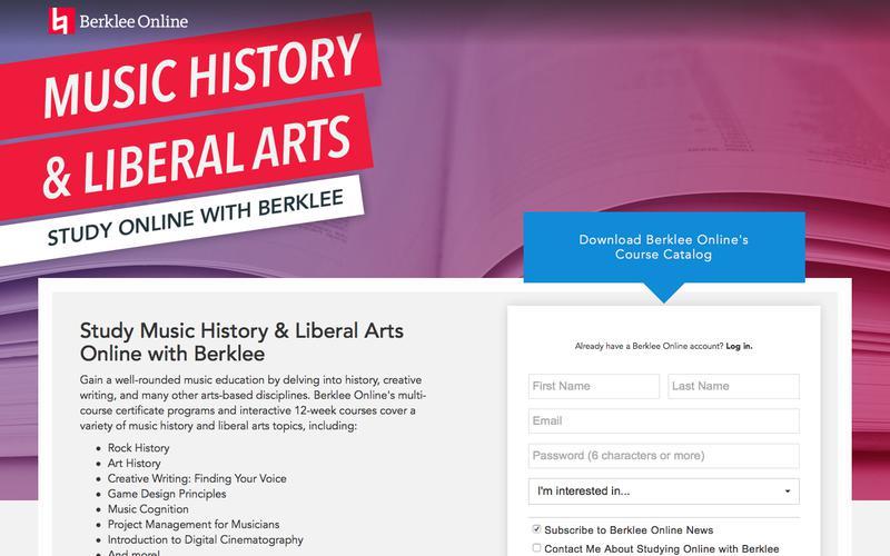 Study Music History with Berklee Online