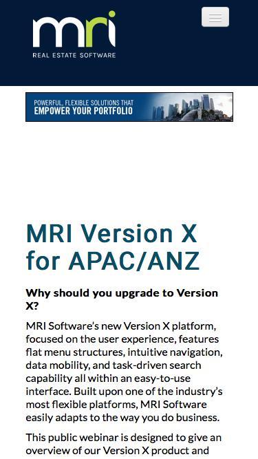 MRI Version X Property Management