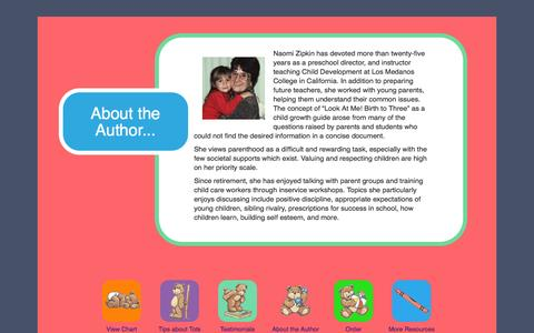 Screenshot of About Page tipsontots.com - About the Author | Tips on Tots LLC - captured Oct. 1, 2014