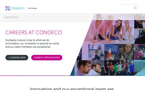 Careers at Condeco - Condeco Careers