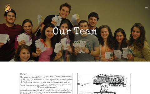 Screenshot of Team Page togetherweremember.org - Our Team — Together We Remember - captured March 4, 2018
