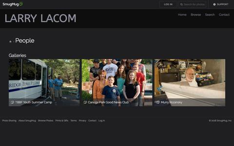 Screenshot of Team Page lacomstudio.com - People - LaComStudio - captured July 15, 2018