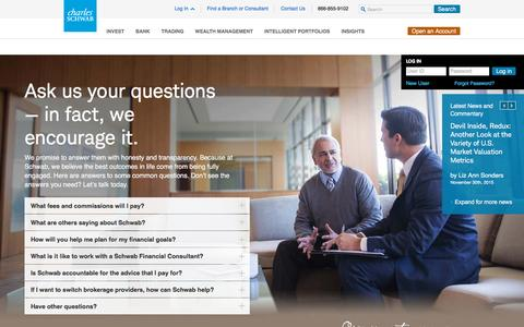 Financial and Retirement Planning Advice | Charles Schwab