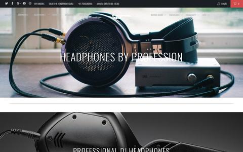 Shop for Headphones By Profession - Headphone Zone