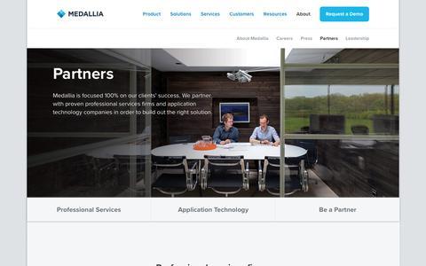 Partners - Medallia
