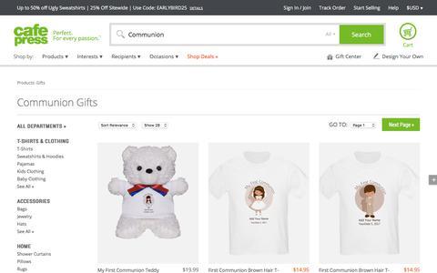 Communion Gifts & Merchandise   Communion Gift Ideas & Apparel - CafePress