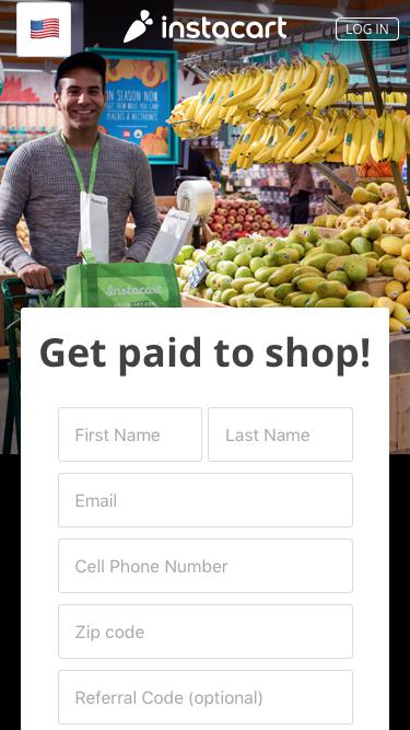 Instacart - Become a Shopper