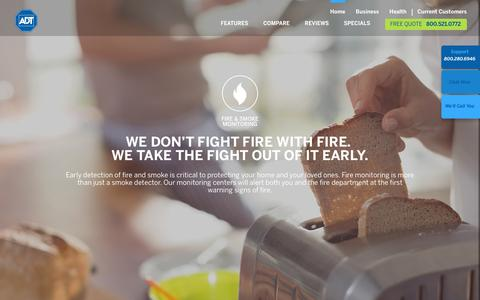 Smoke Detectors & Fire Alarm Systems | Fire Detection & Alarms by ADT