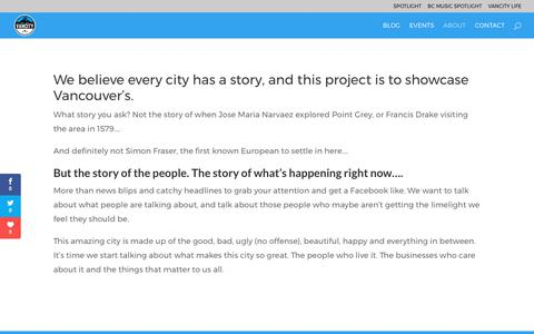 Screenshot of About Page wearevancity.com - About | We Are Vancity - captured June 11, 2017