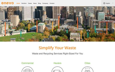 Waste and Recycling Services Right-Sized For You | Enevo