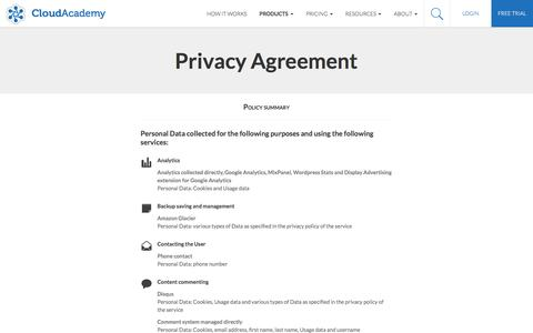 Privacy Cloud Academy