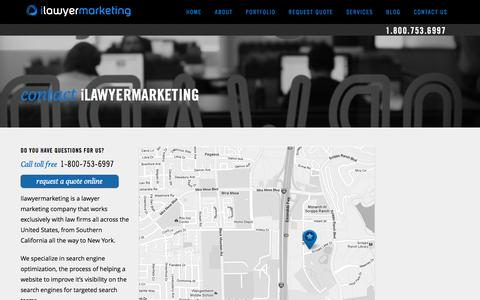 Contact Us | Internet Marketing for Lawyers
