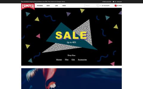 Camper Shoes - Official Online Store