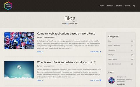 Screenshot of Blog everycode.net - Everycode.NET | Blog Archives - Everycode.NET - captured Sept. 30, 2014