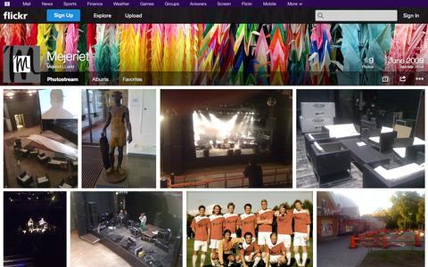 Screenshot of Flickr Page flickr.com - Flickr: Mejeriet i Lund's Photostream - captured Oct. 23, 2014