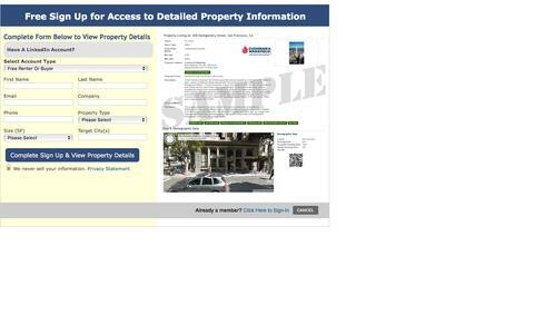Screenshot of Signup Page buildingsearch.com - Sign Up - captured Nov. 23, 2016