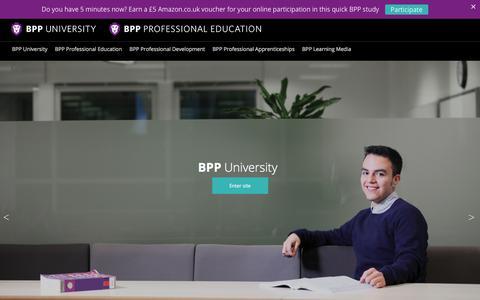Professional Education & University Courses | BPP