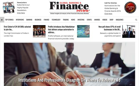 Global Banking And Finance Review – Magazine – News & Awards