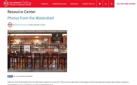 Screenshot of Blog millenniumseating.com - Resource Center   Millennium Seating    USA Restaurant Furniture and Tableware Supplier - captured Oct. 20, 2018