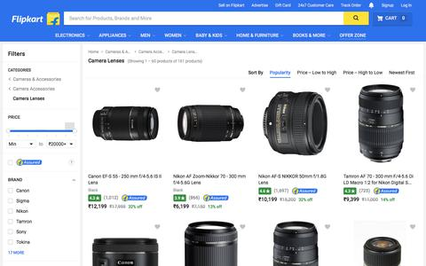 Camera Lens - Buy Camera Lens  Online at Best Prices In India | Flipkart.com