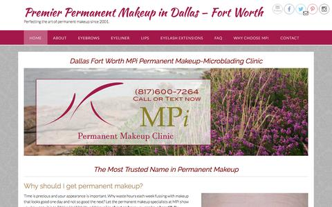 Dallas Fort Worth MPi Permanent Makeup-Microblading Clinic