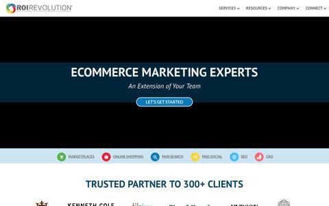 Ecommerce Marketing Experts - ROI Revolution