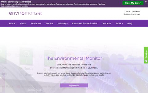 The Environmental Monitor | Tips, How to, Best Practices, Tutorials, Case Studies - Enviromon