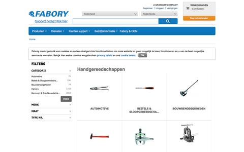 Bij Fabory bestelt u Handgereedschappen van hoge kwaliteit | Fabory, Nederland