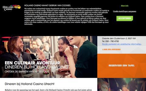 Restaurant Utrecht - Holland Casino
