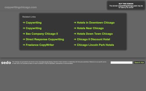 copywritingchicago.com - This website is for sale! - copywritingchicago Resources and Information.