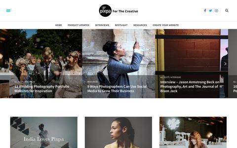 Home page – The Pixpa Blog