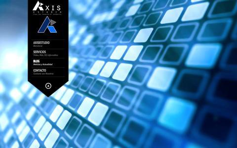 Screenshot of Blog axisestudio.com - Axis Estudio | Video animacion 3d diseño web - captured Sept. 30, 2014